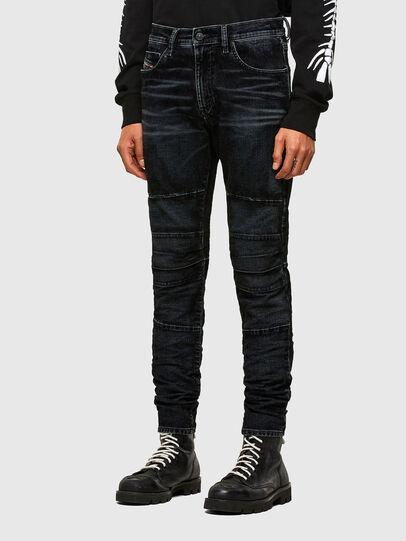 Diesel - D-Strukt JoggJeans® 069TG, Schwarz/Dunkelgrau - Jeans - Image 7