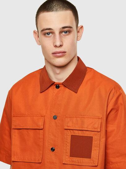 Diesel - S-GUNN, Orange - Hemden - Image 3