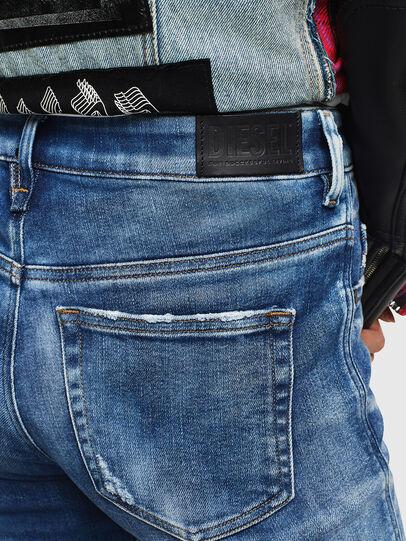 Diesel - Slandy High 0096J, Mittelblau - Jeans - Image 5