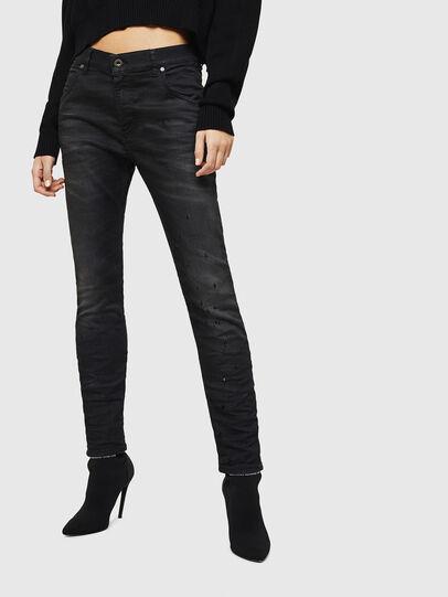 Diesel - Krailey JoggJeans 069GN, Schwarz/Dunkelgrau - Jeans - Image 1