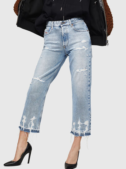 Diesel - Aryel 0078L, Hellblau - Jeans - Image 1
