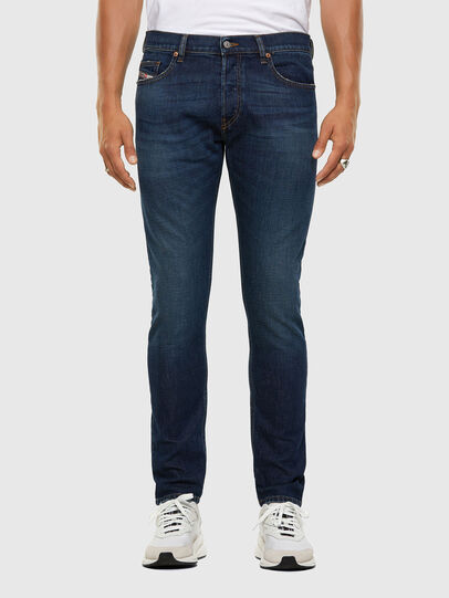 Diesel - D-Luster 009EL, Dunkelblau - Jeans - Image 1