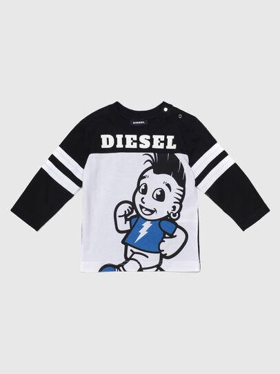 Diesel - TILLYB, Schwarz/Weiss - T-Shirts und Tops - Image 1