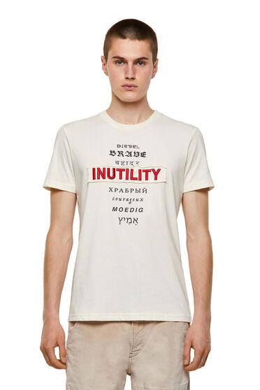 Green Label T-Shirt mit Inutility-Aufnäher