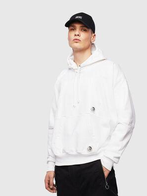 S-ALBY-POCKETS, Weiß - Sweatshirts