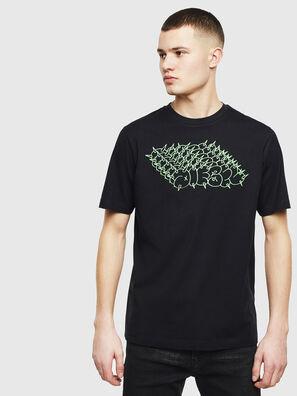 T-JUST-T20, Schwarz - T-Shirts