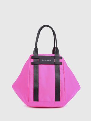 CAGE SHOPPER XS, Neonrosa - Taschen