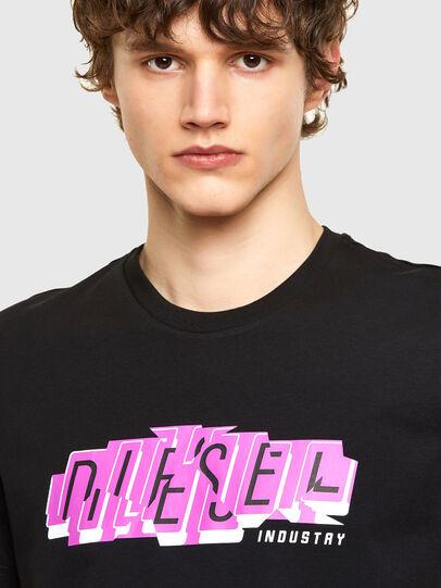 Diesel - T-DIEGOS-E32, Schwarz - T-Shirts - Image 3