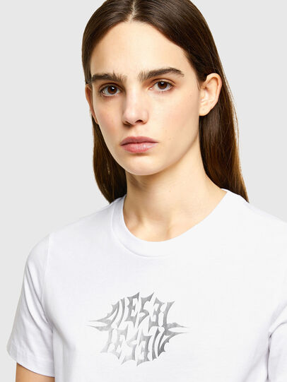 Diesel - T-SILY-K9, Weiß - T-Shirts - Image 3