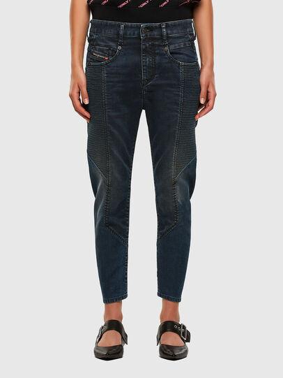 Diesel - FAYZA JoggJeans® 069PQ, Dunkelblau - Jeans - Image 1