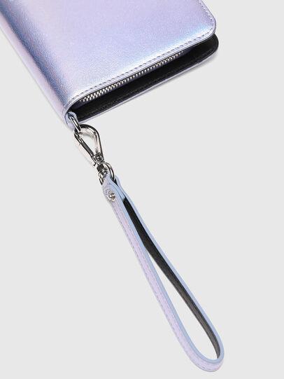 Diesel - GRANATO LCLS, Silber - Portemonnaies Zip-Around - Image 5