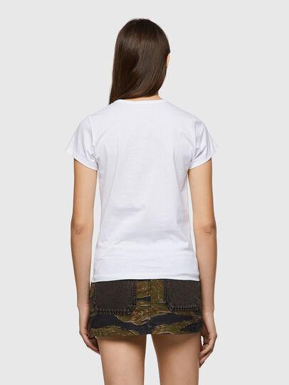 Diesel - T-SLICUP-B1, Weiß - T-Shirts - Image 2