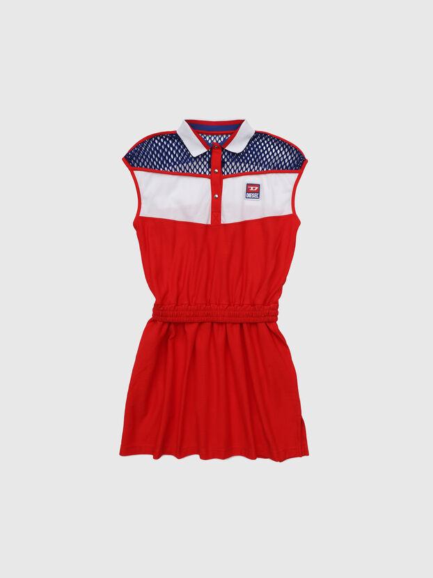 DREIA, Rot/Weiß - Kleider
