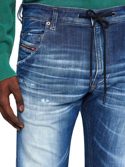 Diesel - Krooley JoggJeans® 09B52, Mittelblau - Jeans - Image 3