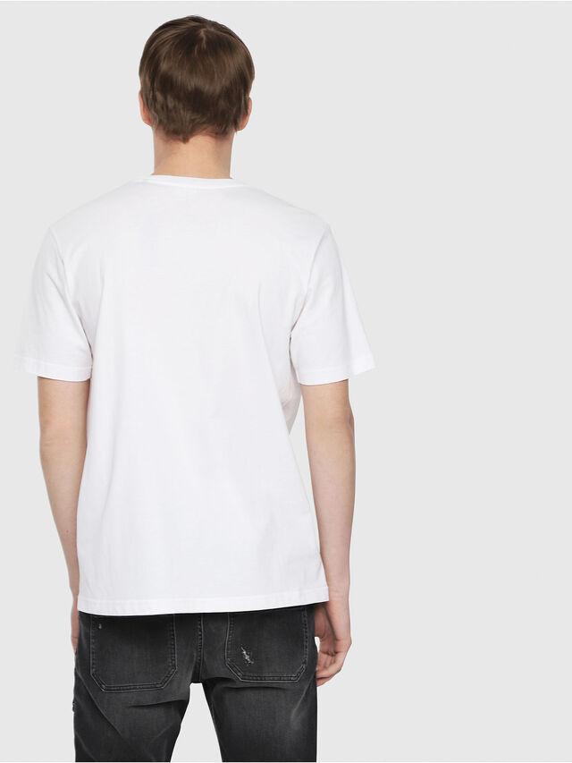 Diesel - T-JUST-DIE, Weiß - T-Shirts - Image 2