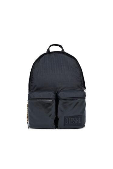Rucksack aus Ripstop mit beschichteten Taschen
