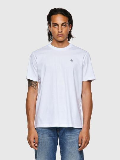 Diesel - T-JUST-ROMOHI, Weiß - T-Shirts - Image 1