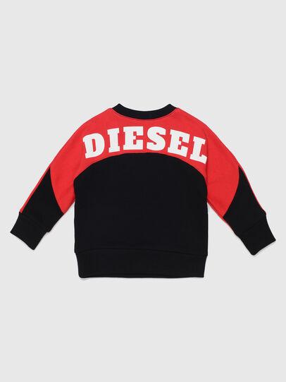Diesel - STRICKB, Schwarz/Rot - Sweatshirts - Image 2