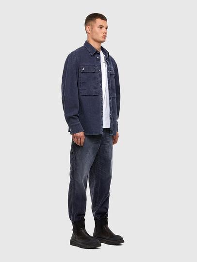 Diesel - D-Franky 009IY, Dunkelblau - Jeans - Image 6