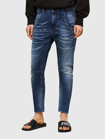 Diesel - Fayza JoggJeans® 0096M, Dunkelblau - Jeans - Image 1