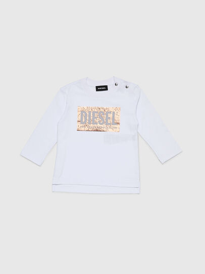 Diesel - TIRRIB, Weiß - T-Shirts und Tops - Image 1