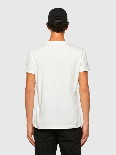 Diesel - T-WORKY-MOHI, Weiß - T-Shirts - Image 5