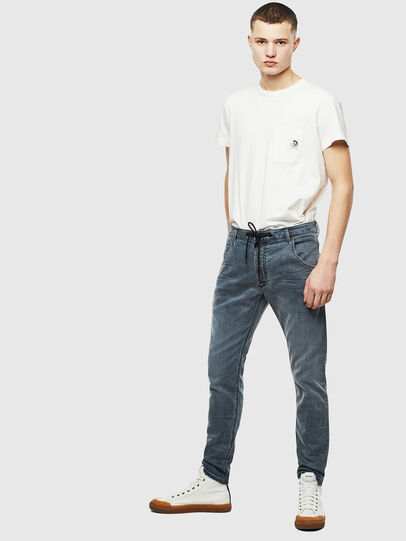 Diesel - Krooley JoggJeans 069LT, Dunkelblau - Jeans - Image 6