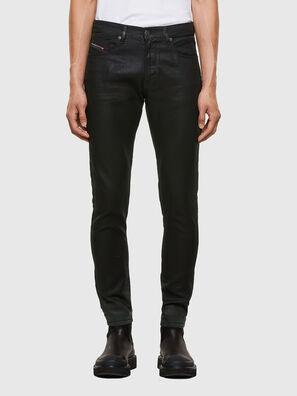 D-Strukt JoggJeans® 069QX, Schwarz/Grün - Jeans