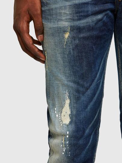 Diesel - Sleenker 0097L, Dunkelblau - Jeans - Image 5