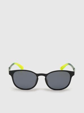 DL0328, Schwarz/Gelb - Sonnenbrille