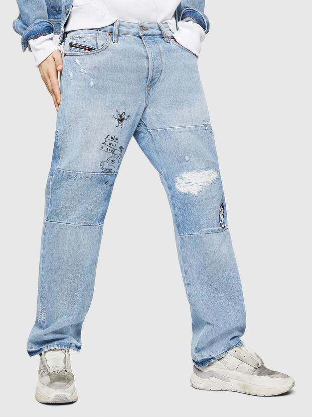 D-Kodeck 0078F, Hellblau - Jeans