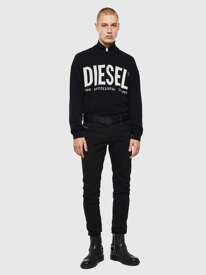 Diesel - Sleenker 069EI, Schwarz/Dunkelgrau - Jeans - Image 5