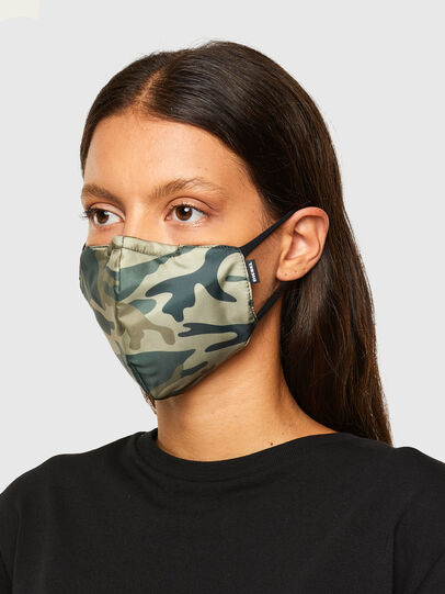 Diesel - FACEMASK-CMF-A, Armeegrün - Weitere Accessoires - Image 3