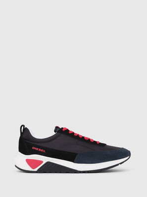 S-KB LOW LACE, Schwarz/ Rot - Sneakers