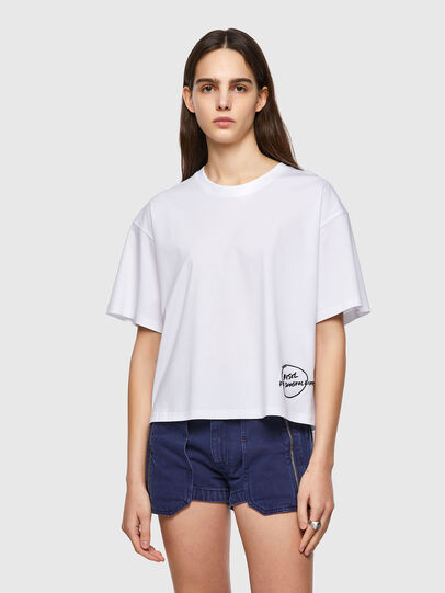 Diesel - T-BOWBOW, Weiß - T-Shirts - Image 1