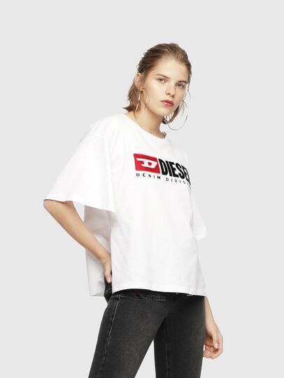 Diesel - T-JACKY-D, Weiß - T-Shirts - Image 1