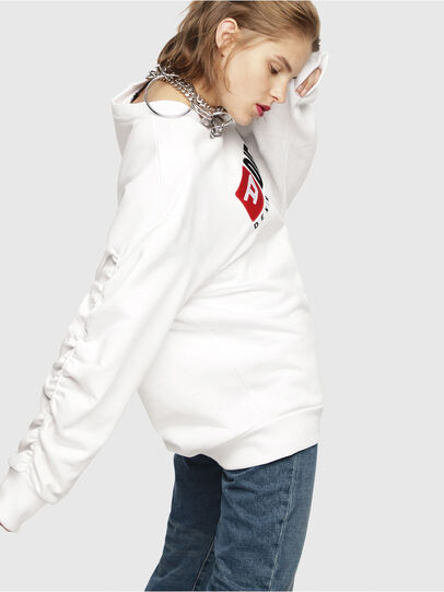 Diesel - F-ARAP, Weiß - Sweatshirts - Image 3