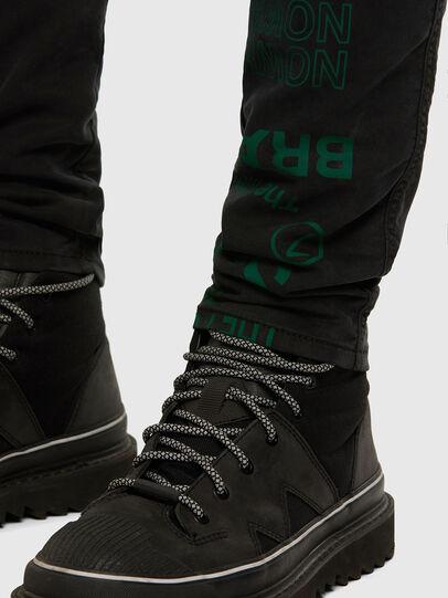 Diesel - D-REEFT JoggJeans® 009HD, Schwarz/Dunkelgrau - Jeans - Image 8