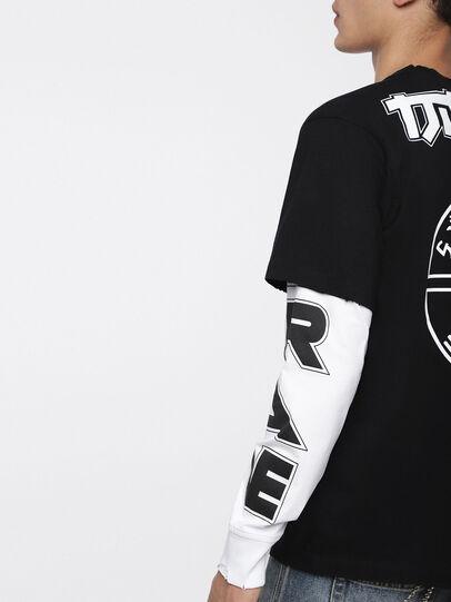 Diesel - T-SOUND, Schwarz - T-Shirts - Image 3