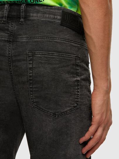 Diesel - D-Vider JoggJeans 009FZ, Schwarz/Dunkelgrau - Jeans - Image 4