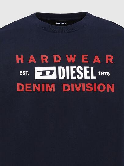 Diesel - S-GIRK-K10, Dunkelblau - Sweatshirts - Image 3