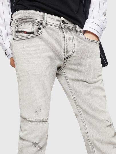 Diesel - Sleenker 0090F, Hellgrau - Jeans - Image 3