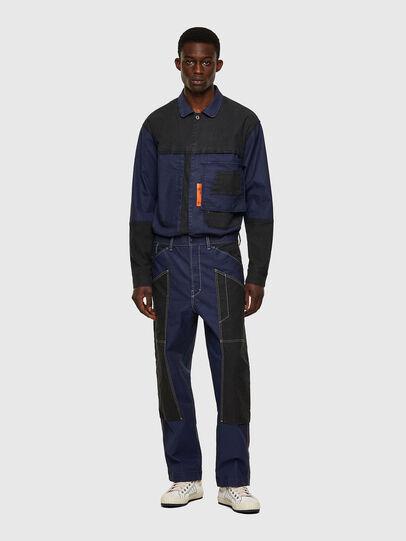 Diesel - D-Franky JoggJeans® 0EEAW, Dunkelblau - Jeans - Image 5