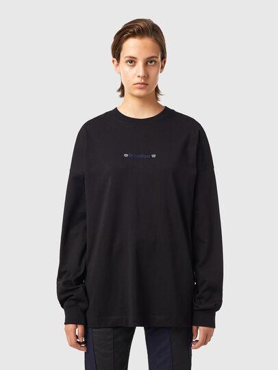 Diesel - T-BLONG, Schwarz - T-Shirts - Image 1