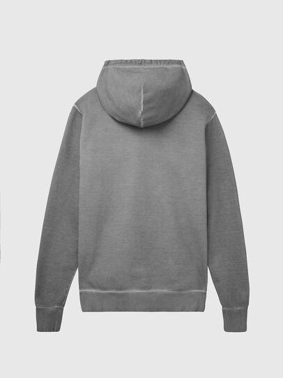 Diesel - S-GIR-HOOD-DIVISION-, Grau - Sweatshirts - Image 2