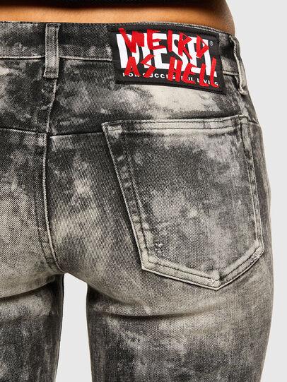 Diesel - D-Jevel 009FG, Hellgrau - Jeans - Image 4