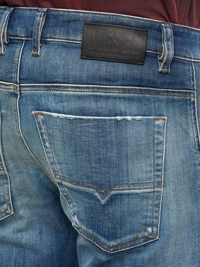 Diesel - Krooley JoggJeans 009NK, Mittelblau - Jeans - Image 4