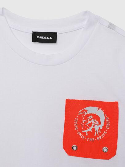 Diesel - TLARS, Weiss/Orange - T-Shirts und Tops - Image 3