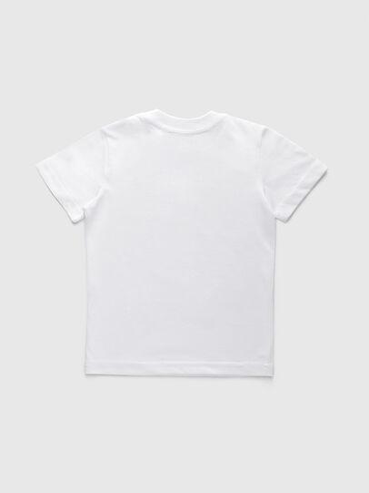 Diesel - TJUSTDIVISIONB-R, Weiß - T-Shirts und Tops - Image 2