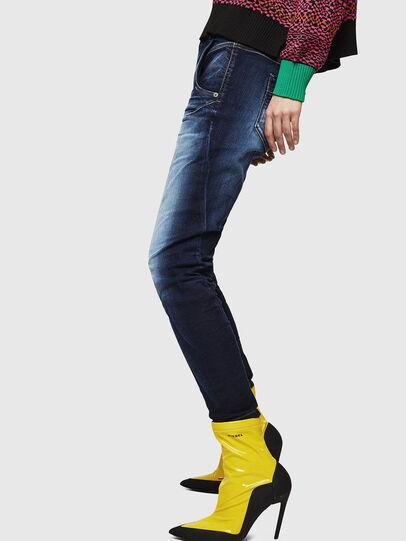 Diesel - Fayza JoggJeans 069IE, Dunkelblau - Jeans - Image 5